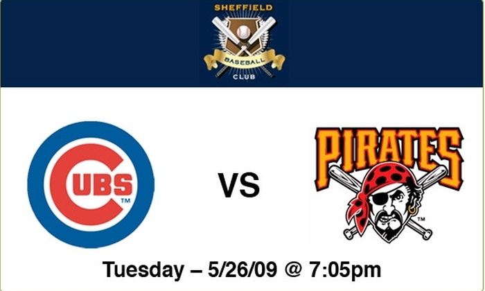 Sheffield Baseball Club - Lakeview: Cubs vs Pirates - 5/26/09 - 7:05 PM