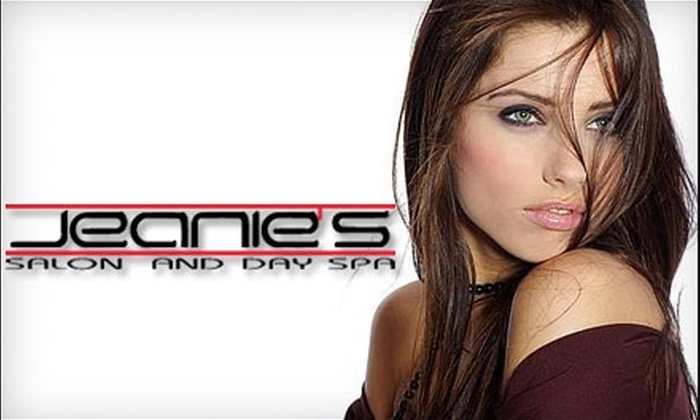 Jeanie's Salon and Day Spa - Annapolis: $67 Cut and Color ($135 Value) or $32 Cut and Style ($65 Value) at Jeanie's Salon and Day Spa in Annapolis