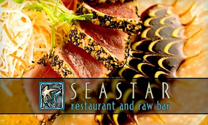 Seastar Restaurant and Raw Bar - Multiple Locations: $25 for $50 Worth of Seafood, Raw Fare, Steaks, and More at Seastar Restaurant and Raw Bar