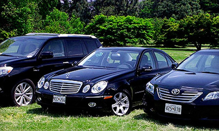 EnviroRide - Ballston - Virginia Square: $45 for a One-Way Chauffeur Service to or from the Dulles or Reagan National Airport from EnviroRide (Up to $90 Value)