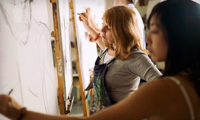 U.S. Art and Design - Multiple Locations: Adult Figure-Drawing Class or One or Four Youths' Drawing Classes from U.S. Art and Design in Pleasanton (Up to 56% Off)