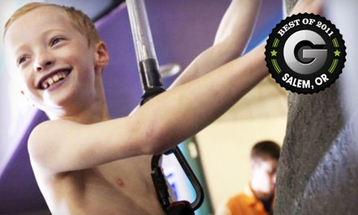 North Clackamas Aquatic Park - Southgate: Indoor-Waterpark Day for Four Residents or Non-Residents at North Clackamas Aquatic Park in Milwaukie (Up to 59% Off)