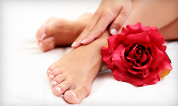 Nails Naturally - Allandale: $35 for a Shellac Manicure and Indulge Me Pedicure at Nails Naturally ($76 Value)