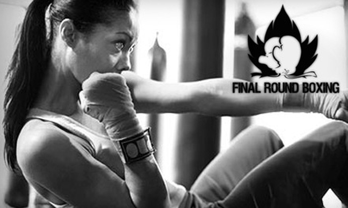 Final Round Boxing - Hunt Club East - Western Community: $39 for a One-Month Membership Including All Necessary Gear at Final Round Boxing (Up to $140 Value)