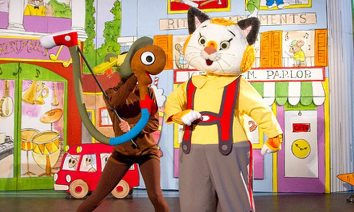 """""""Richard Scarry's Busytown: Busytown Busy"""" - Guelph: $18 for """"Richard Scarry's Busytown: Busytown Busy"""" Performance at the River Run Centre in Guelph on March 5 (Up to $31.50 Value)"""