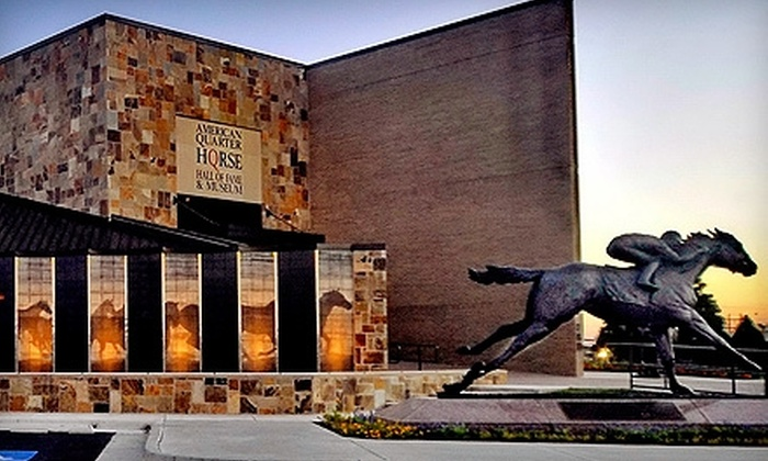 American Quarter Horse Hall of Fame & Museum - Amarillo: $3 for One Adult Admission and One Youth Admission to the American Quarter Horse Hall of Fame & Museum ($8 Value)
