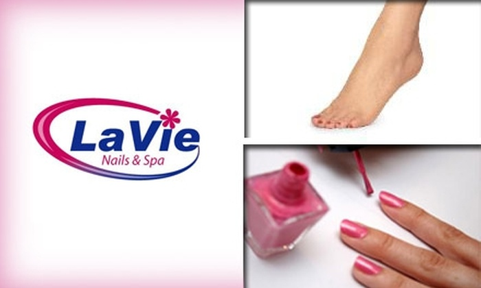 LaVie Nails & Spa - Western Skies Village: $20 Relaxing, Pampering Mani-Pedi at LaVie Nails & Spa