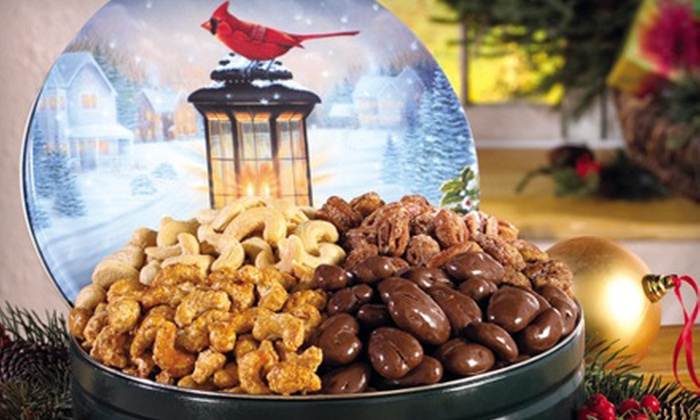 The Peanut Roaster - Multiple Locations: $15 for $30 Worth of Flavored Nuts and Gourmet Snacks at The Peanut Roaster