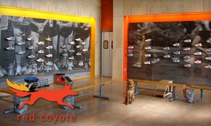 Red Coyote Running and Fitness - Central Oklahoma City: $15 for $30 Worth of Running Shoes, Apparel, and Accessories at Red Coyote Running and Fitness
