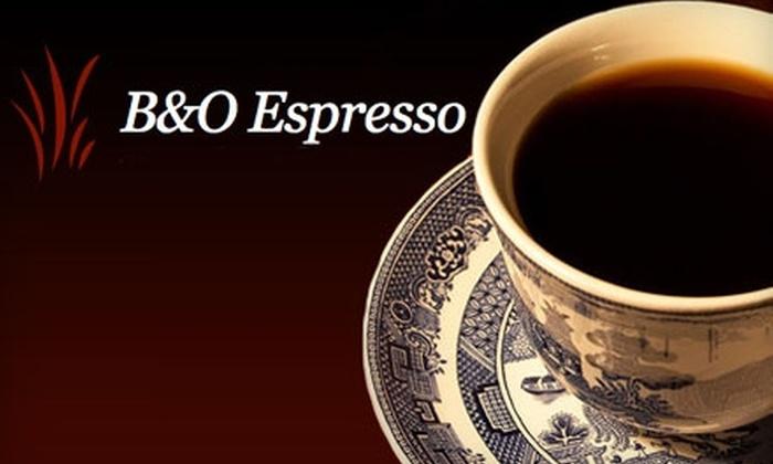 B&O Espresso - Seattle: $12 for $25 Worth of Café Fare and Specialty Espresso at B&O Espresso in Capitol Hill