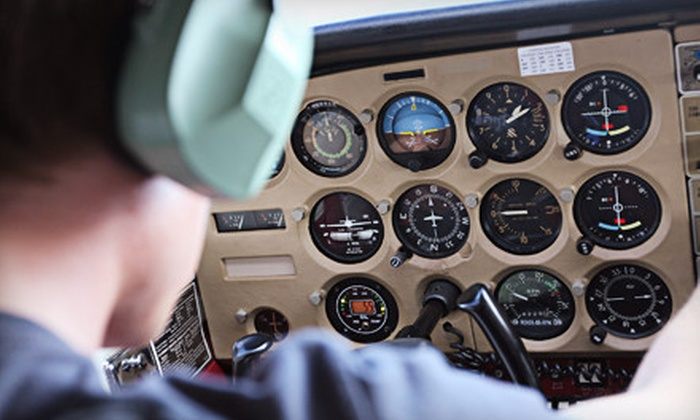 Middle River Aviation - Baltimore: $99 for a Discovery Flight Lesson with Ground and Air Instruction at Middle River Aviation ($205 Value)