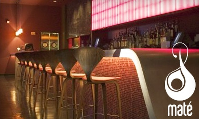 Maté - Georgetown: $15 for $30 Worth of Latin-Asian Fusion Cuisine and Drinks at Maté