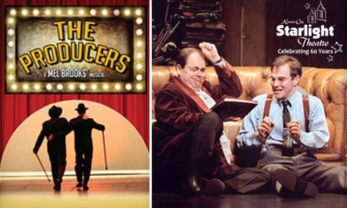 "<i>The Producers</i> - Kansas City: Tickets to ""The Producers"" at Starlight Theatre on August 23. Multiple Seating Options Available."