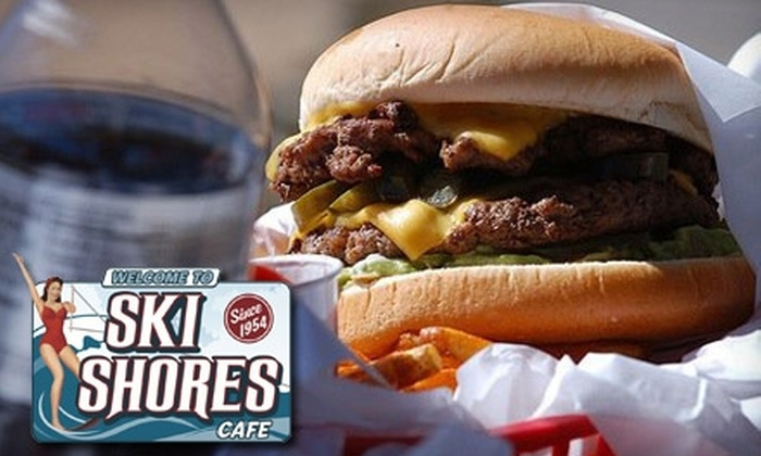 Ski Shores Cafe - Manana West: $15 for $30 Worth of Café Fare at Ski Shores Café
