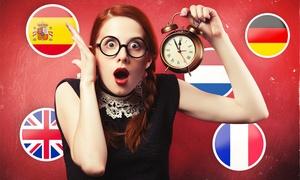 Online Trainers: 1 Mois de cours en anglais, espagnol, allemand, français ou néerlandais avec Online Trainers à 9 € (94% de réduction)