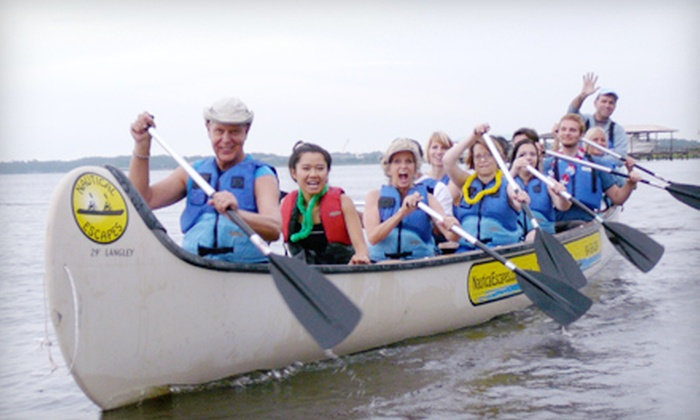 Nautical Escapes USA - Atlantic Beach: $20 for One of Three Guided Canoe or Kayak Tours from Nautical Escapes USA in Atlantic Beach (Up to $40 Value)