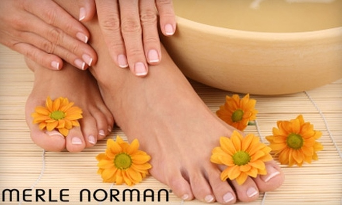 Merle Norman - Brookfield: $30 for a Mani-Pedi at Merle Norman ($60 Value)