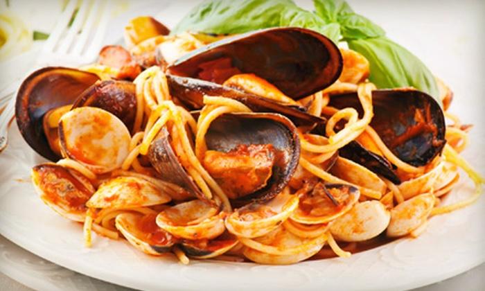 Caesar's Den - Little Italy: Southern Italian Cuisine at Caesar's Den (Half Off)