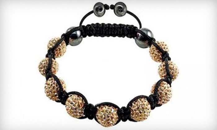 Ranae Boutique - Downtown Toronto: Swarovski-Crystal-Encrusted Shamballa Bracelet or $25 for $55 Worth of Jewellery at Ranae Boutique