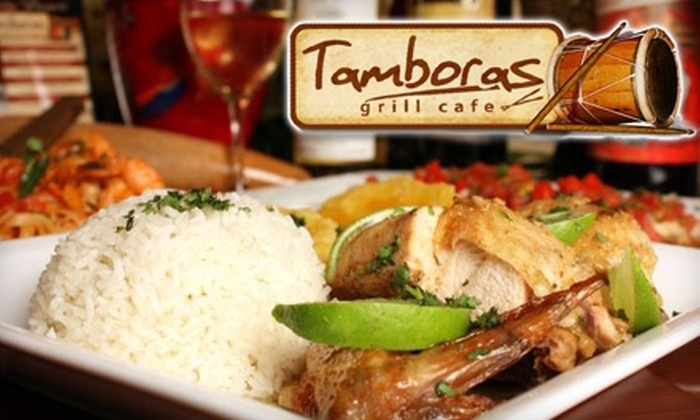 Tamboras Grill Café - Ocoee: $20 for $40 Worth of Latin American Dinner Fare and Drinks at Tamboras Grill Café
