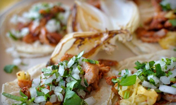 Comida Mercado Fresco - Park Slope: $29 for a Mexican Dinner for Two at Comida Mercado Fresco in Brooklyn (Up to $88 Value)