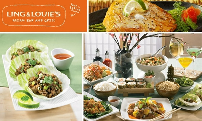 Ling and Louie's Asian Bar & Grill  - Denver: $10 for $25 Worth of Fusion Cuisine at Ling and Louie's