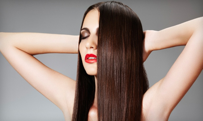 Trade Secret Salon - Berkshire Lakes: $99 for a Keratin Hair Treatment at Trade Secret Salon ($475 Value)