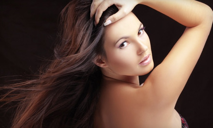 Zapien's Salon - Multiple Locations: Women's Haircut, Color Package, or Full-Highlights Package at Zapien's Salon (Up to 70% Off)