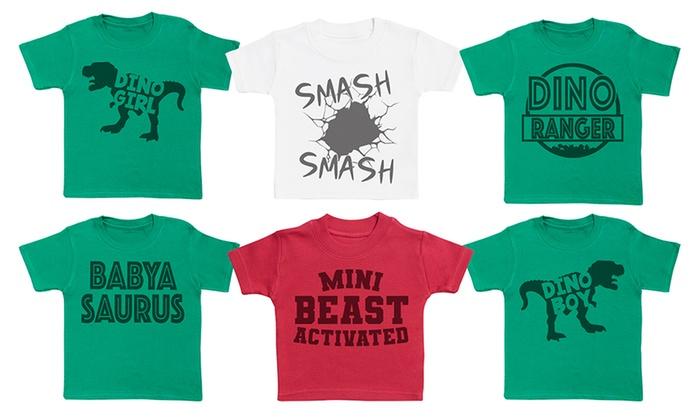 Mini Dinosaur Baby Kids' T-Shirt