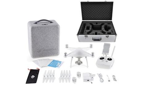 DJI Phantom 4 Quadcopter with 12MP Camera & Optional Accessory Bundle