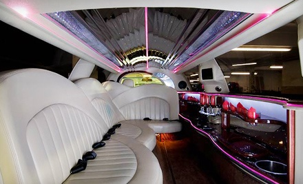 6-Hour Stretch Limo Ride for up to 8 People(up to a $900 value) - Arrive in Style Transportation Services in