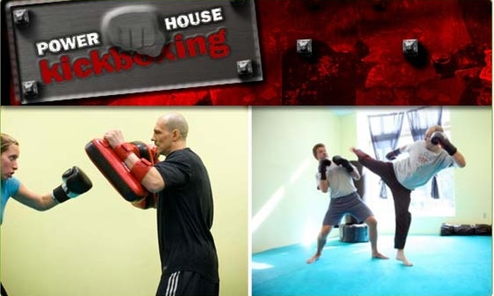Powerhouse Kickboxing - Cambridgeport: $45 for a One-on-One Kickboxing Class (Normally $90)