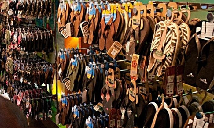 Flip Flop Shops - Multiple Locations: $15 for $30 Worth of Flip-Flops and Sandals at Flip Flop Shops