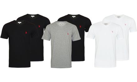 2 o 4 magliette per uomo US Polo Assn