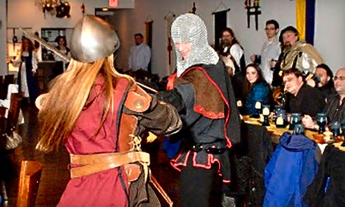 Medieval Madness - Old Town: $29 for a Comedy Show and an All-You-Can-Eat Four-Course Feast at Medieval Madness in Alexandria (Up to $59 Value)