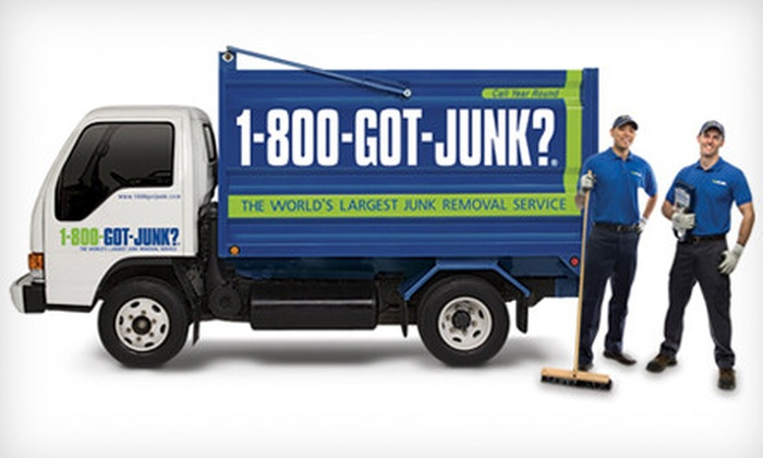 1-800-Got-Junk? - Springfield: Christmas Tree Removal and Clean-Up or Junk Removal from 1-800-Got-Junk? (Up to 58% Off)