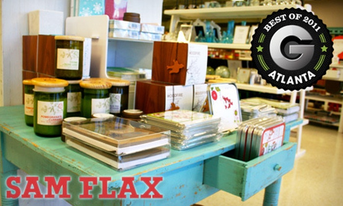 Sam Flax - Brookwood: $20 for $40 Worth of Art Supplies and Home Décor at Sam Flax