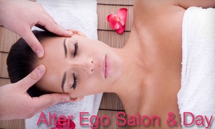 Alter Ego Salon & Day Spa - Charlotte: $59 for a One-Hour European Facial and One-Hour Swedish Massage at Alter Ego Salon & Day Spa ($132 Value)