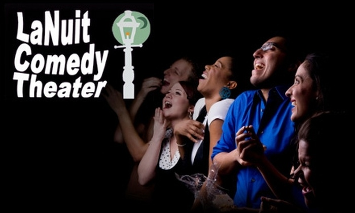 La Nuit Theater - Freret: $5 for One Ticket to a Comedy Show at La Nuit Comedy Theater in February (Up to $15 Value). Choose from Multiple Options.