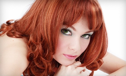 Glossing Hair Treatment (a $30 value) - V-Star Salon and Spa in Little Rock