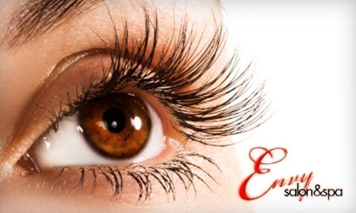 Envy Salon and Spa - Sherman Oaks: $175 for an Acai Therapy Hair Treatment or a Full Set of Xtreme Lashes Eyelash Extensions at Envy Salon & Spa