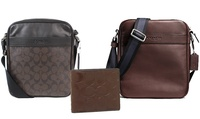 Mens Coach Bags or Wallets in Choice of Styles from AED 299 (Up to 60% Off)