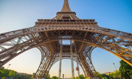 Parijs: Klassieke/Superior tweepersoonskamer met ontbijt voor 2 personen in Hôtel de l'Exposition Tour Eiffel