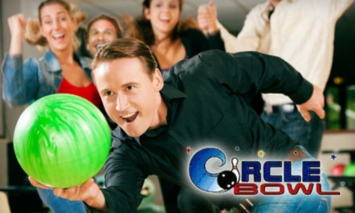 Circle Bowling Lanes - Broadmoor/Sherwood: $5 for Two Games of Bowling and Rental Shoes at Circle Bowling Lanes (Up to $11.50 value)