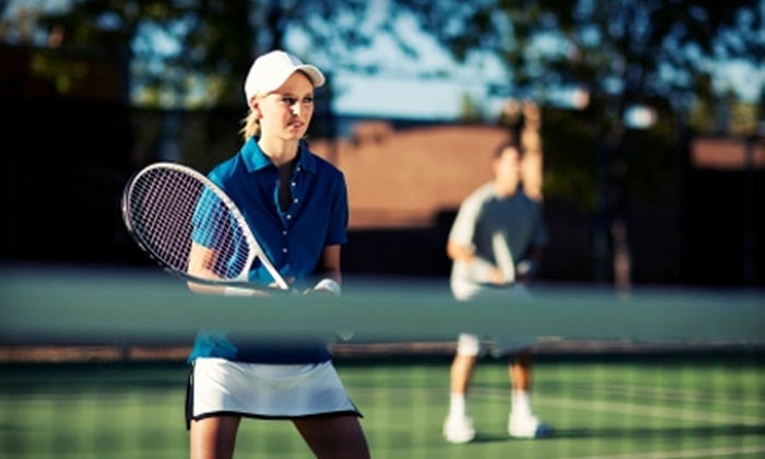 The Racquet Club of Lake Bluff - Lake Bluff: $70 for Four Tennis Classes and a Four-Week Membership at The Racquet Club of Lake Bluff (Up to $290 Value)