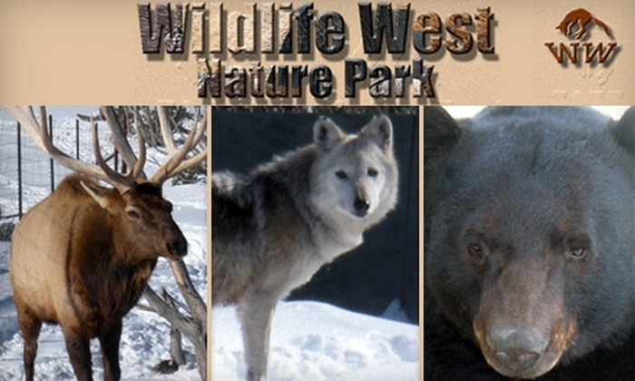 Wildlife West Nature Park - Edgewood: $25 for One-Year Family Membership to Wildlife West Nature Park ($50 Value)