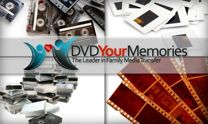 DVD Your Memories - San Diego: $45 for $110 Worth of Video and Photo Digitization at DVD Your Memories