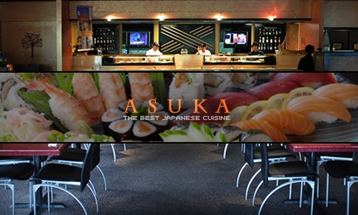 Asuka Japanese Restaurant - Wake Forest: $15 for $32 Worth of Asian Fusion Fare at Asuka Japanese Restaurant
