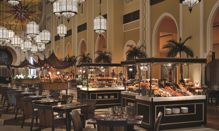 Friday Brunch With Soft Drinks Al Bahou At 5 Movenpick Ibn Battuta Gate Hotel Dubai Groupon