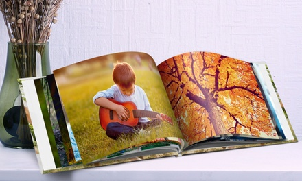 Hardcover Fotobuch mit 40 oder 100 Seiten